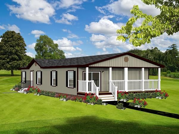 Oak Manor 2304 Porch Manufactured Homes Texas House With Porch