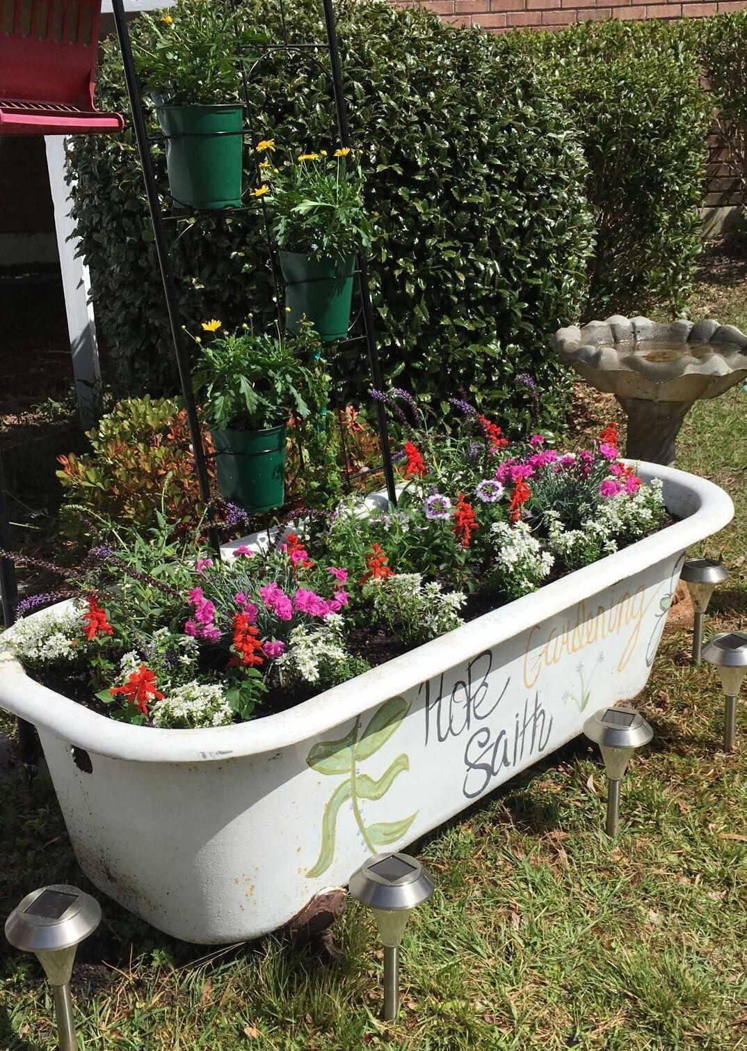 Garden Tub: Pin By Amarilys Ortega On Landscape Ideas