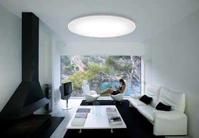 Escoge tu lámpara para techos bajos   Iluminacion - Decora Ilumina ...