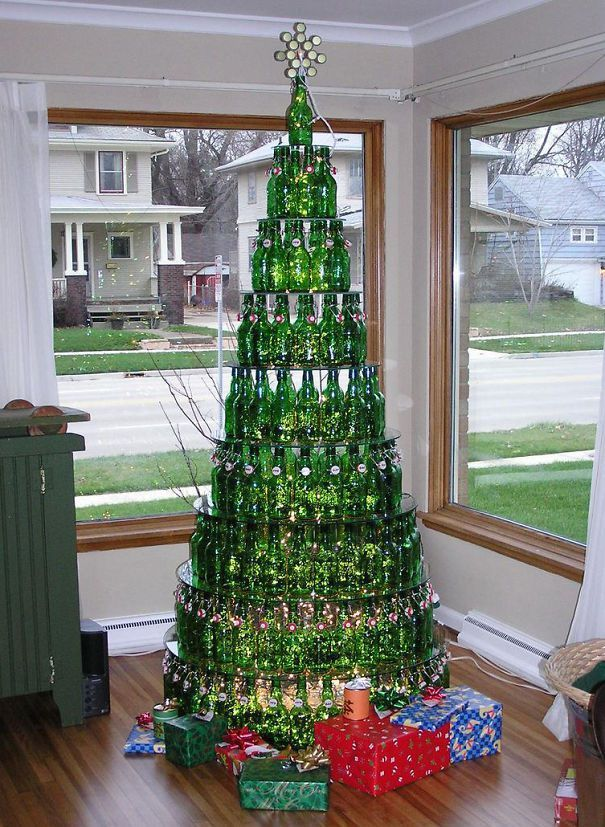 46 Creative Christmas Tree Decorating Ideas For Your Inspiration Creative Christmas Trees Unusual Christmas Trees Unique Christmas Trees