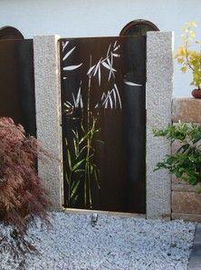 17 best ideas about sichtschutz metall on pinterest | deckbelag, Hause und Garten