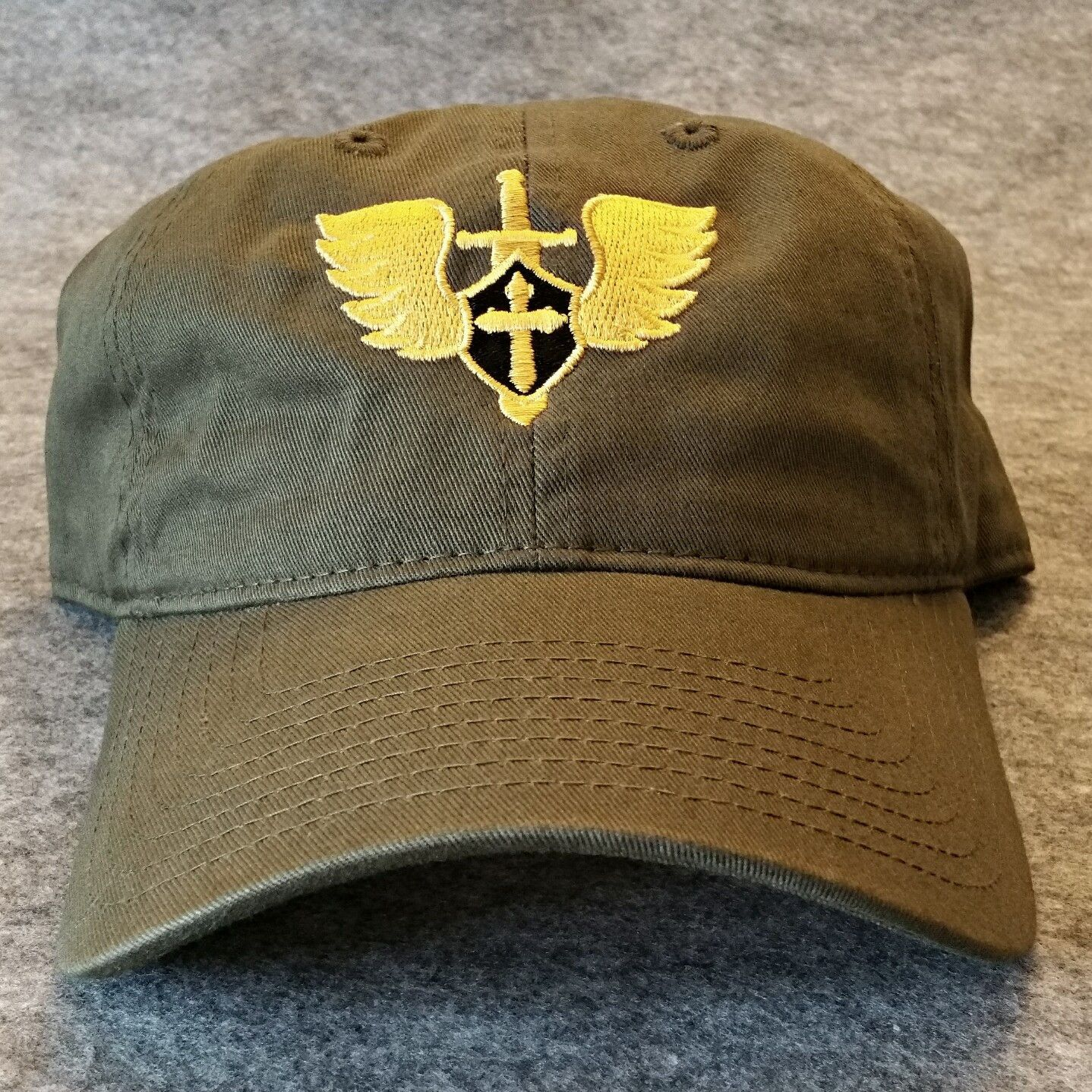 6a6bb0cd9f4f2 JMJCat3 St. Michael Military Cap