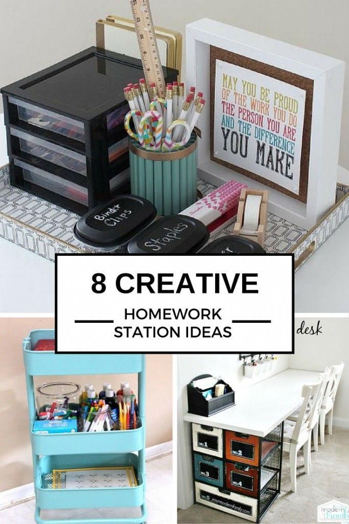 8 Ideas to Create the Perfect Homework