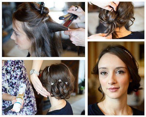 Step By Guide Bridal Hair Tutorial Updo