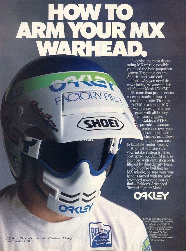 oakley motocross vintage
