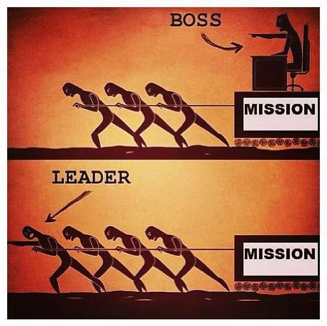 Leader Boss And Leader Boss Vs Leader Leadership Quotes