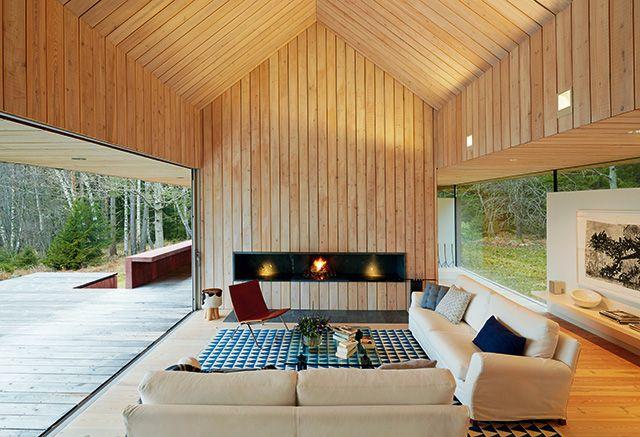 Der Naturbaustoff Holz punktet mit zukunftsweisenden Eigenschaften - holzverkleidung innen modern