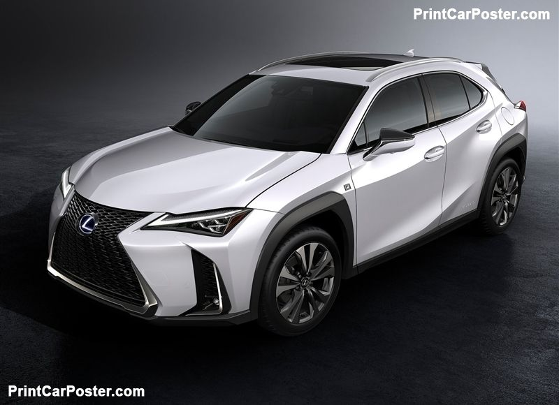 Lexus Ux 2019 Poster Lexus New Model Japanese Sports Cars