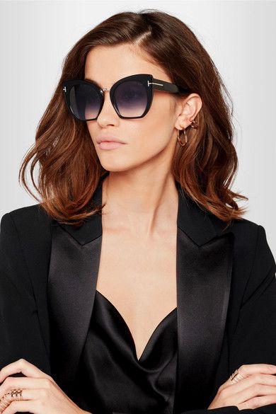 30a2156eb TOM FORD - Samantha cat-eye acetate sunglasses | // T H R O W I N G ...