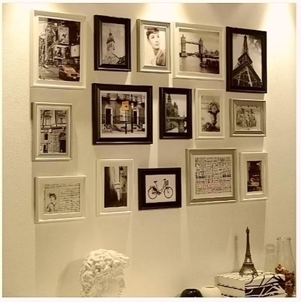 I like this layout of frames. RD15 BSW Modern Set (90cm x 140cm ...