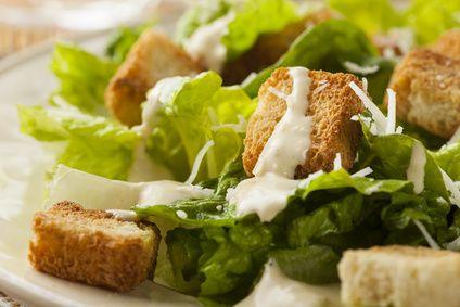 On revisite la salade césar, sans culpabiliser!