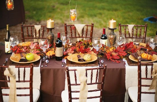 Tabletop Tuesday Outdoor Thanksgiving Table Ideas | Decorating Files | decoratingfiles.com #outdoorthanksgivingtableideas & Tabletop Tuesday: Outdoor Thanksgiving Table Ideas | Decorating ...