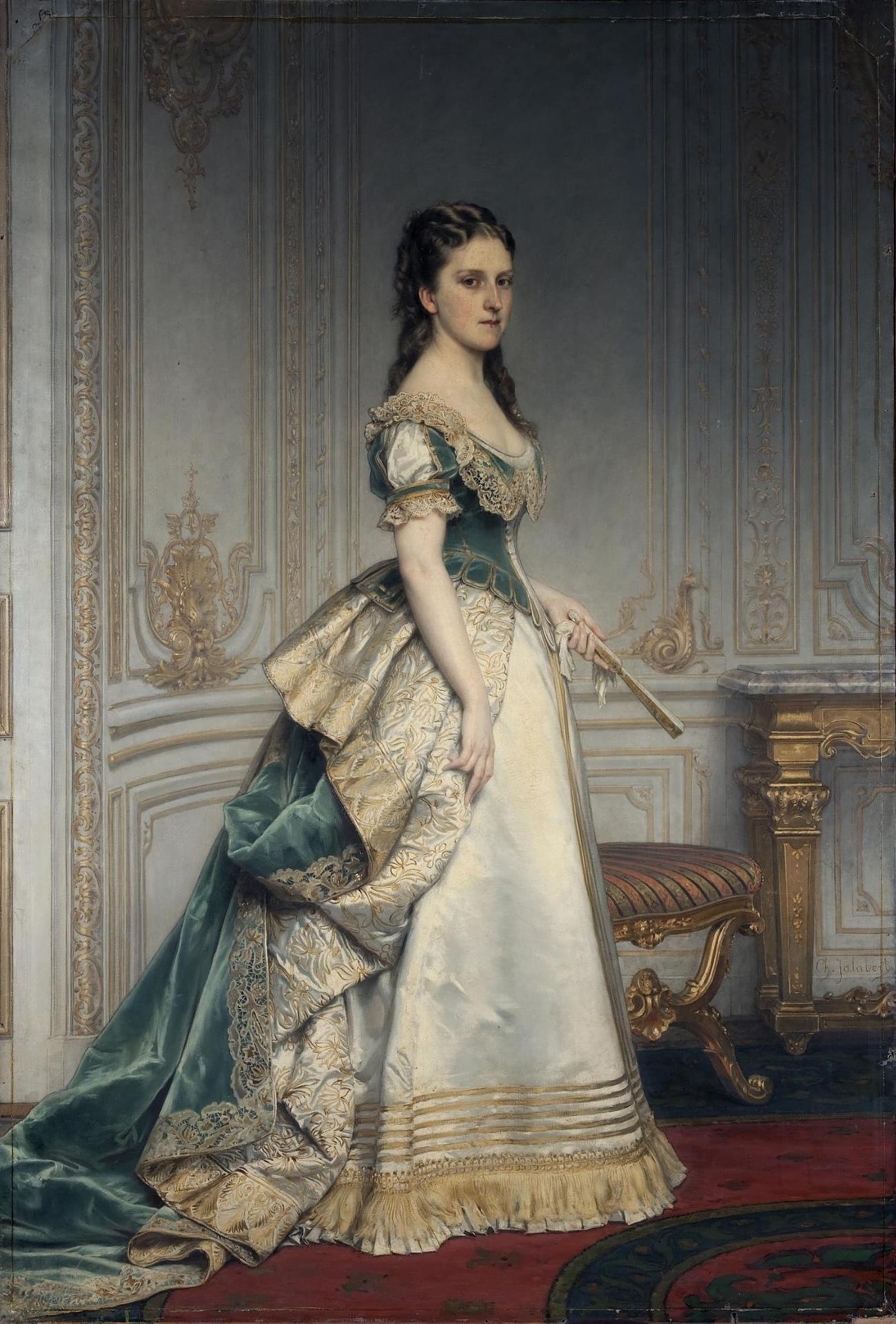 Jalabert, Charles Francois  Portrait of Nadezhda Polovtseva  France, Middle - second half of the 19th century