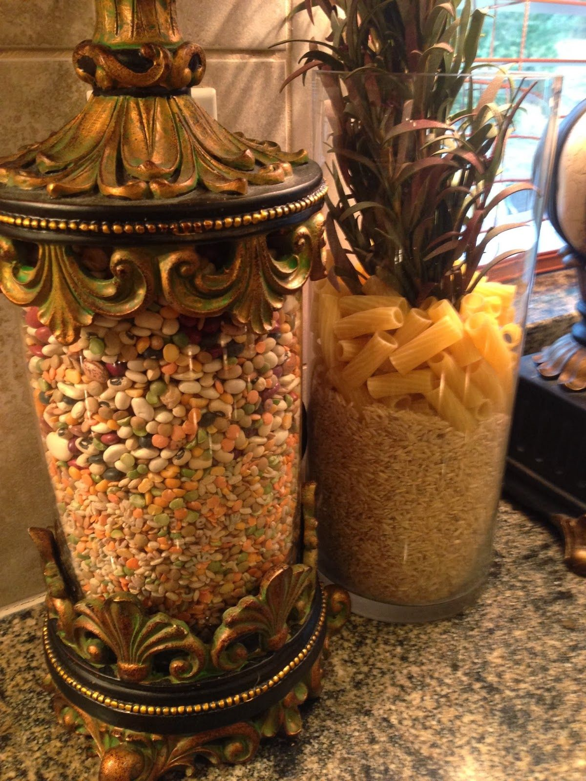 Tuscan old world drake design medium berry kitchen canisters set of 3 - Tuscan Home