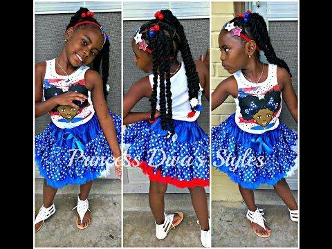 princess diva cute little girls style  cuban twist hair