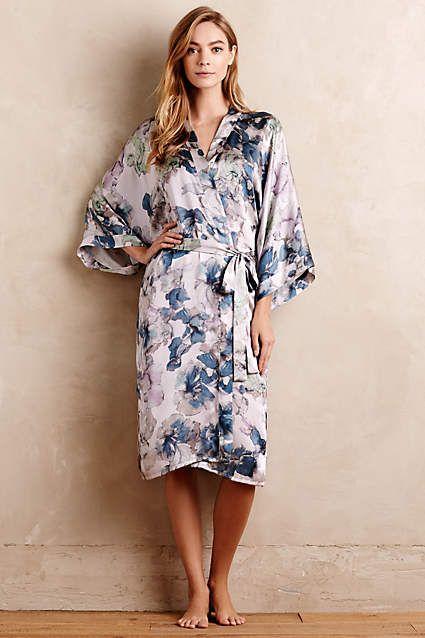 6267841404 Samantha Chang Iris Silk Kimono - anthropologie.com