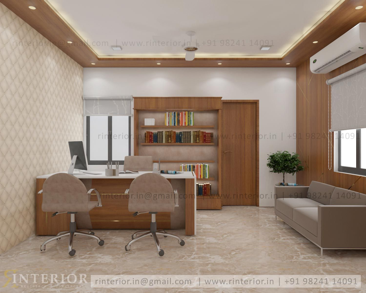 Rinterior Best Commercial Interior Design Services In Ahmedabad