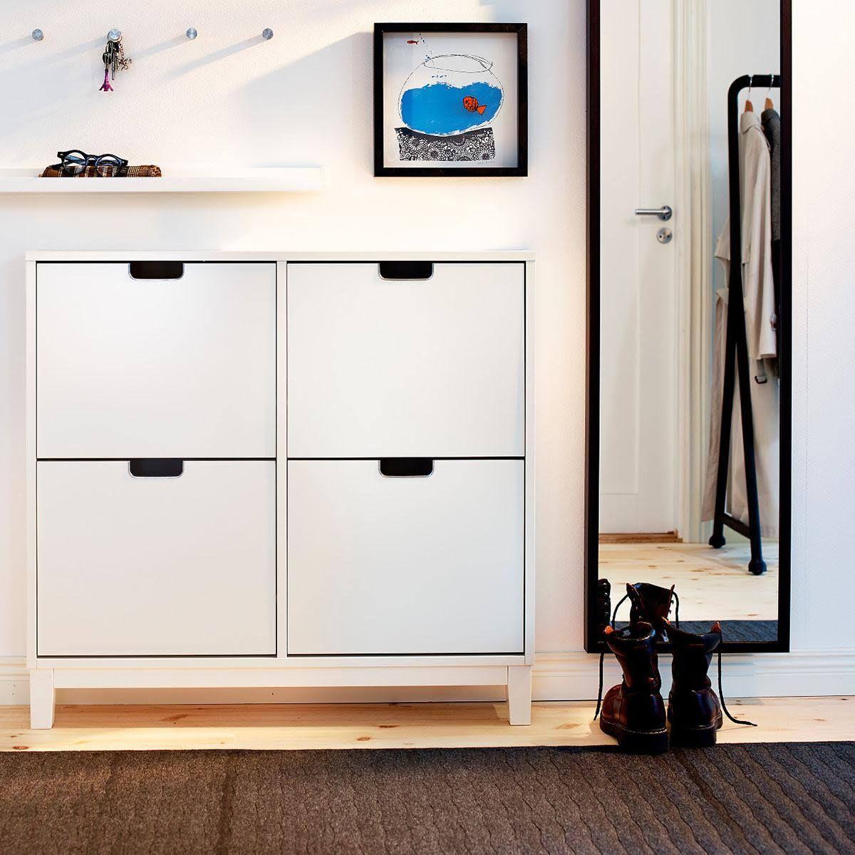 schuhschr nke und schuhregale f r den flur schuhschrank pinterest. Black Bedroom Furniture Sets. Home Design Ideas