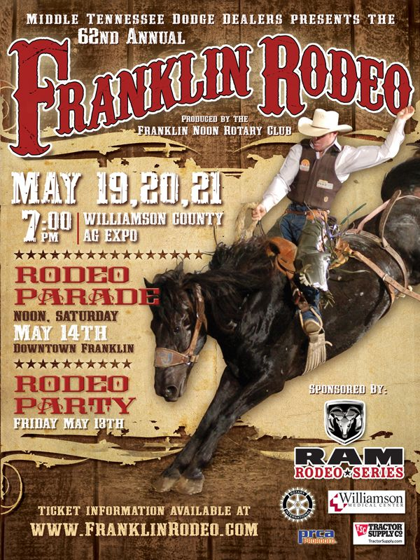 Rodeo Poster Design Inspiration In 2019 Rodeo Rodeo