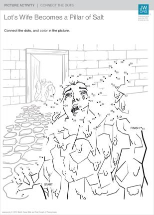 Lot S Wife Becomes A Pillar Of Salt Preschool Bible Lessons
