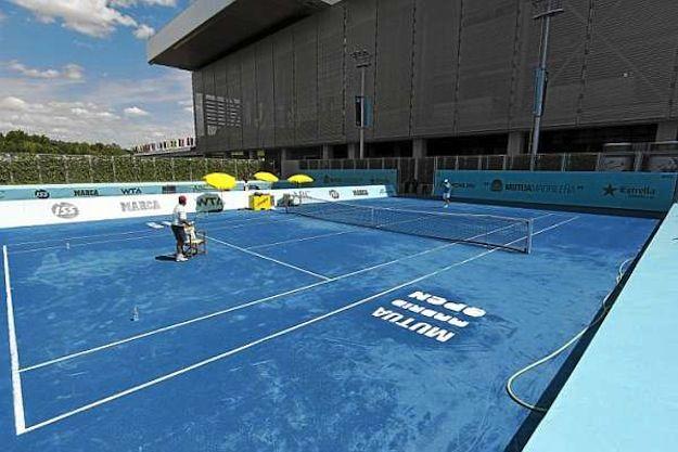 The Blue Clay Tennis Tennis Stars Tennis Court