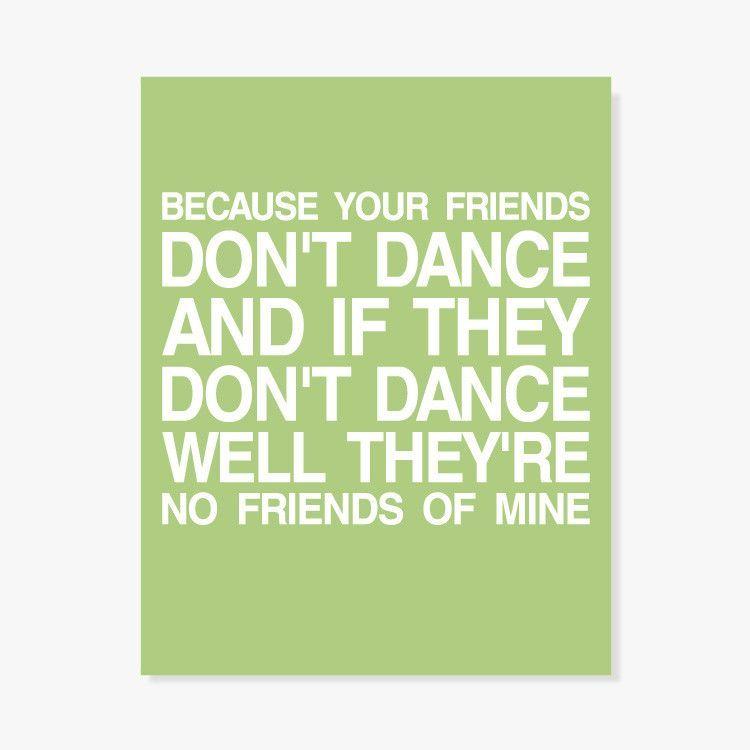 Safety Dance Art Print Safety Dance Dance Dance Quotes