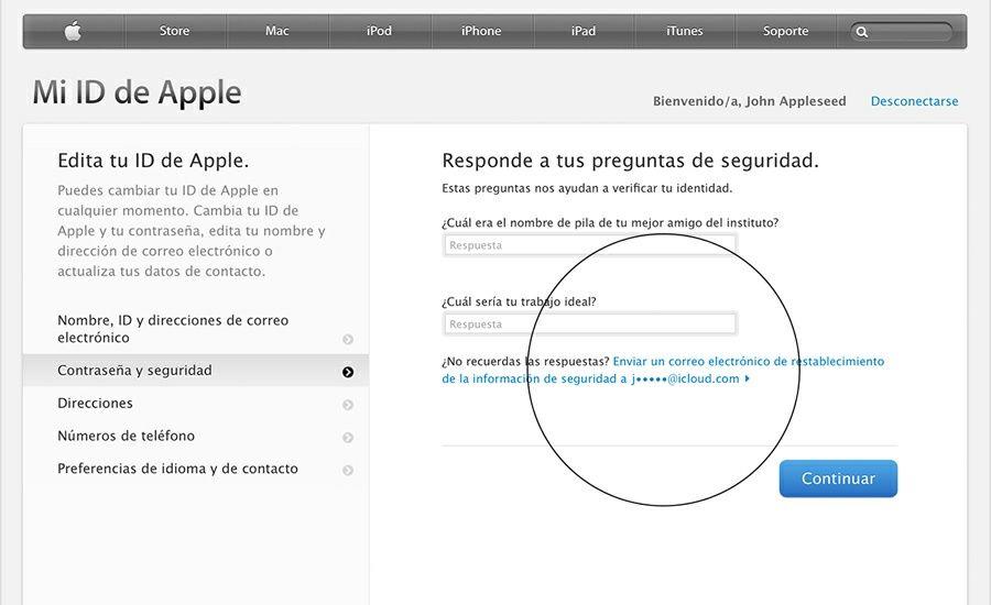 He Olvidado las Respuestas de Seguridad de mi ID de Apple. ¿Qué Hago?