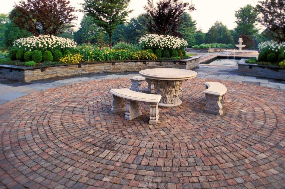 Patio Ideas Multifunctional Brick Paver Patio Design On