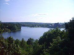 Hameenlinna, näkymä Vanajavedelle