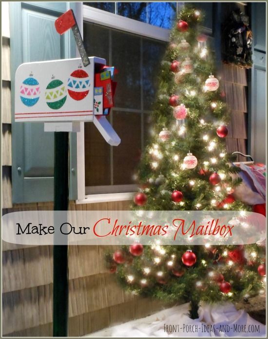free christmas mailbox decoration idea christmas decor ideas pinterest christmas mailbox decorations christmas and outdoor christmas