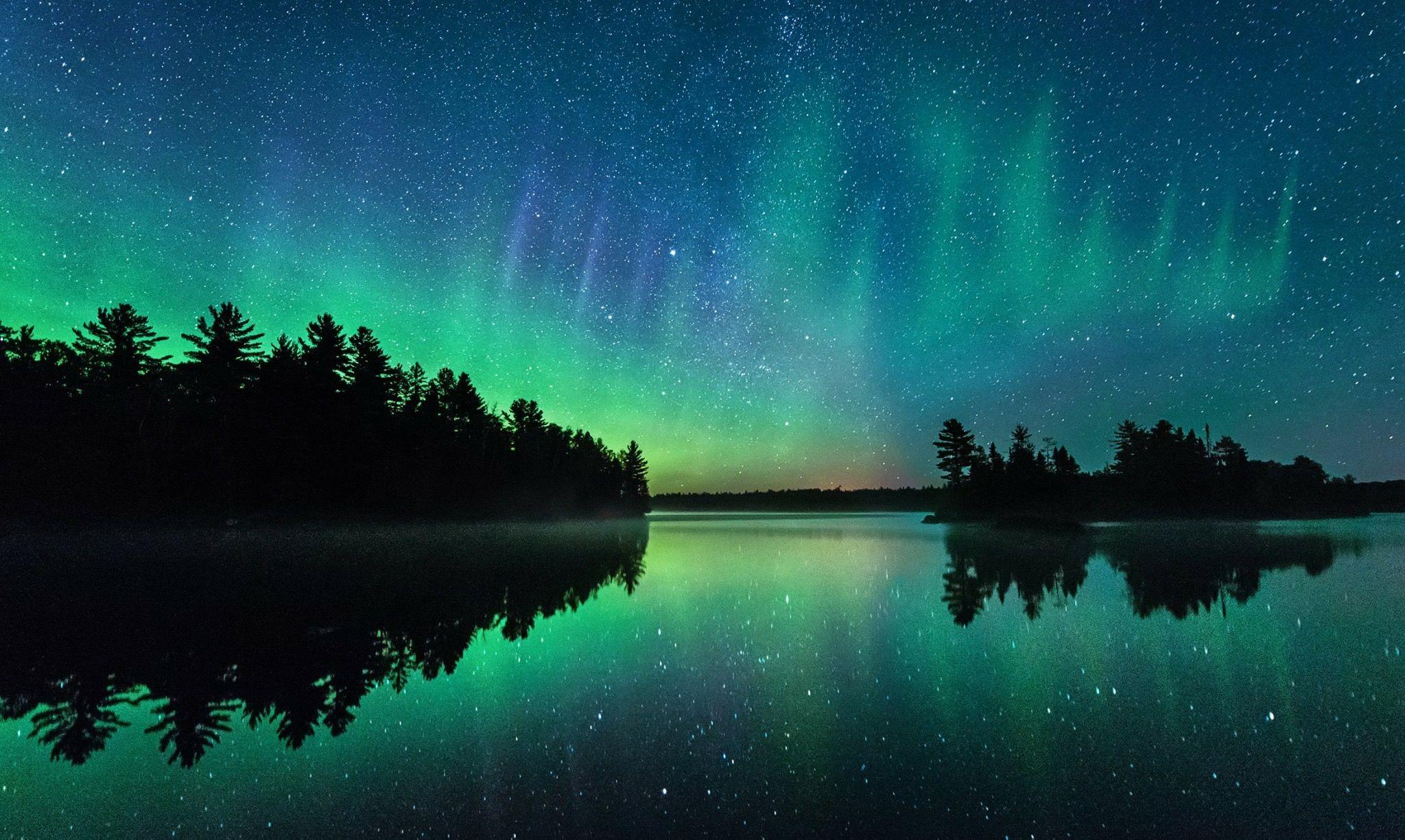 minnesota northern lights aurora borealis by dan anderson dan