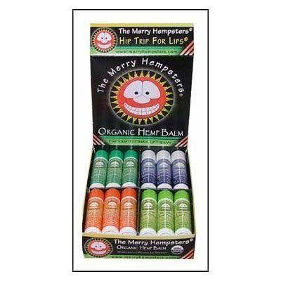 Organic Hemp Lip Balm Cinnamon Merry Hempsters 0.14 oz Lip Balm Skin Cleanser Tena Cream 33.8 oz. Pump Bottle Scented Sold by Case of 8