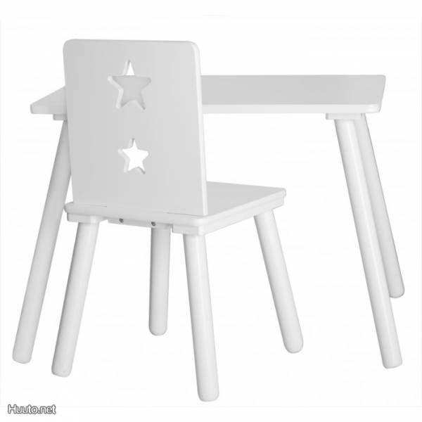 Valkoinen lasten pöytä / White table for kids