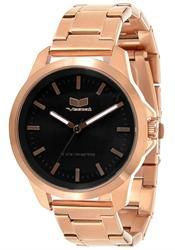 578608c824a Vestal HEI3M09 Heirloom -Rose Gold Black