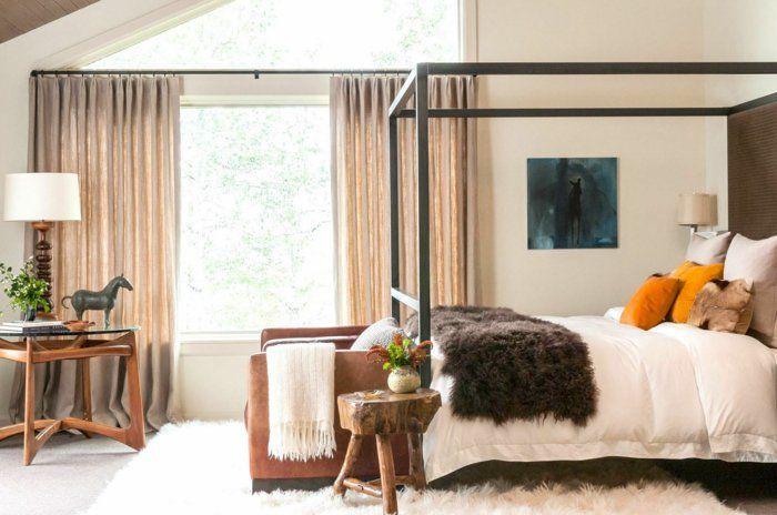 Schlafzimmer rustikal ~ Rustikales schlafzimmer im dachgeschoss aus holz myroom