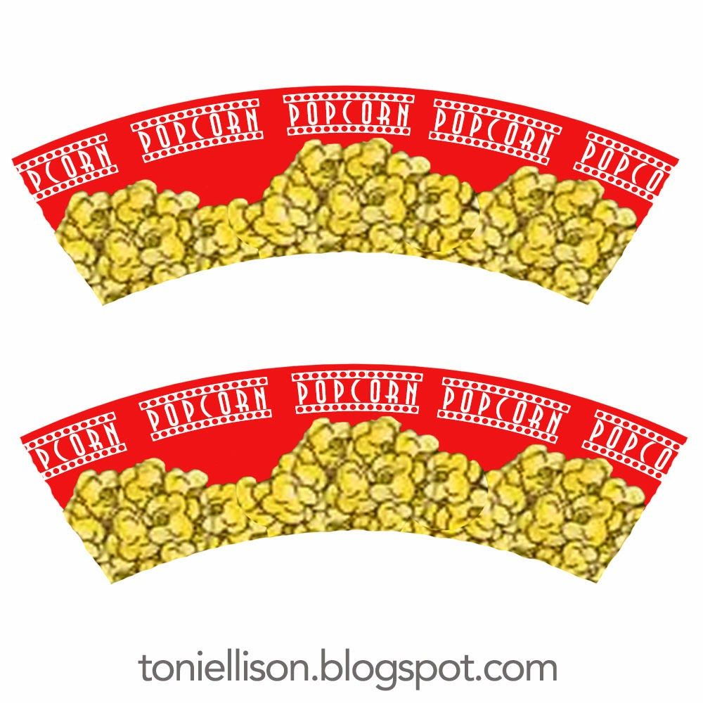 Toni Ellison Movie Theater Snacks How To Make Miniature Popcorn Icee Nachos Candy Polymer Clay Movie Theater Snacks Miniatures Popcorn Box Template