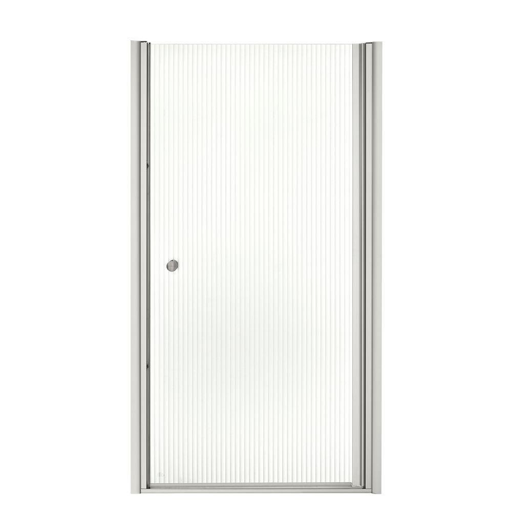Kohler Fluence 36 1 2 In X 65 1 2 In Semi Frameless Pivot Shower
