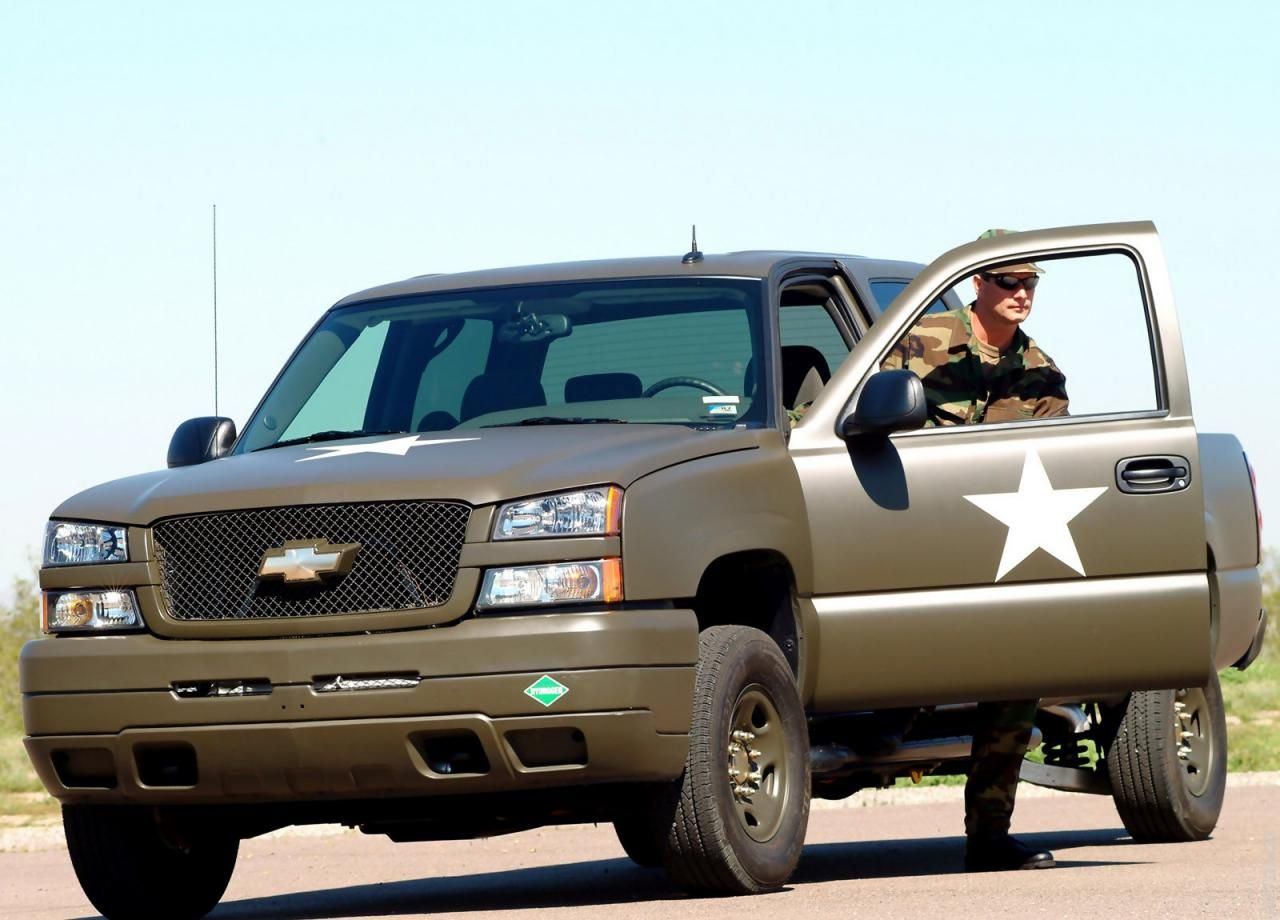 2006 chevrolet silverado hydrogen military vehicle