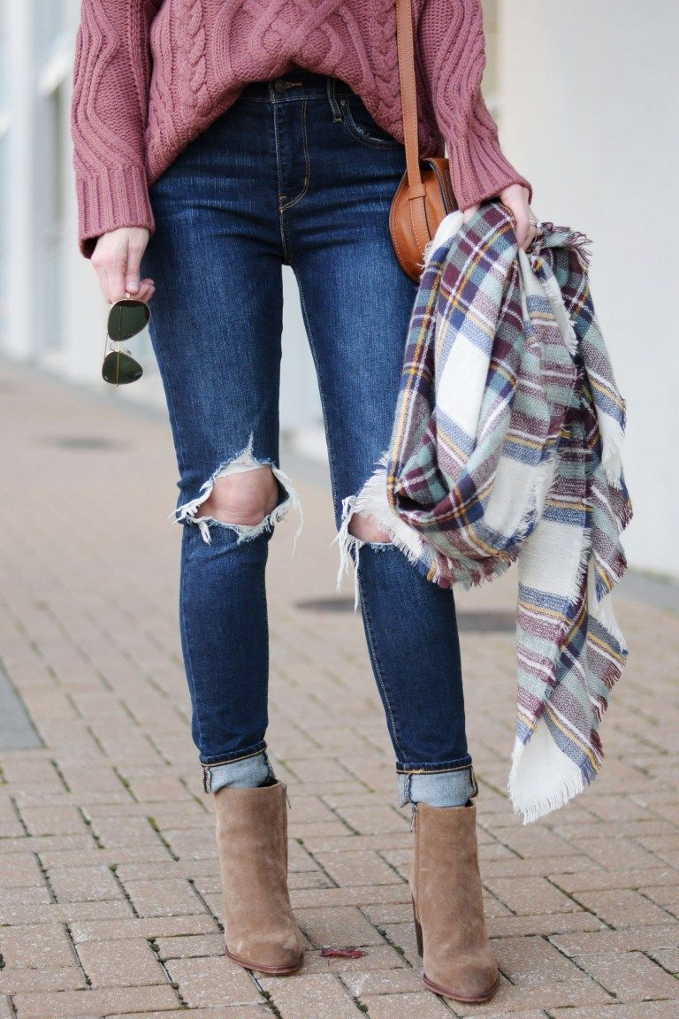 How to Wear Ankle Boots with Jeans - The Dos & Don'ts - Straight A Style