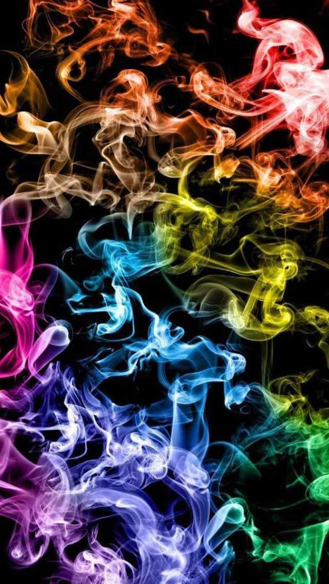 Tap And Get The Free App Art Creative Awesome Multicolor Pattern Smoke Hd Iphone Wallpaper Smoke Wallpaper Iphone Background Art Cool Iphone Wallpapers Hd Cool colorful smoke wallpaper hd