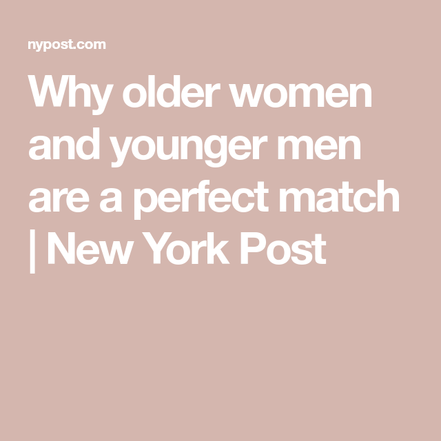 younger guys dating older women quotes