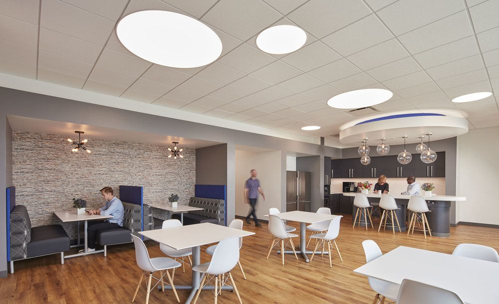 Wmtv Nbc 15 Architect Glass Curtain Interior Spaces