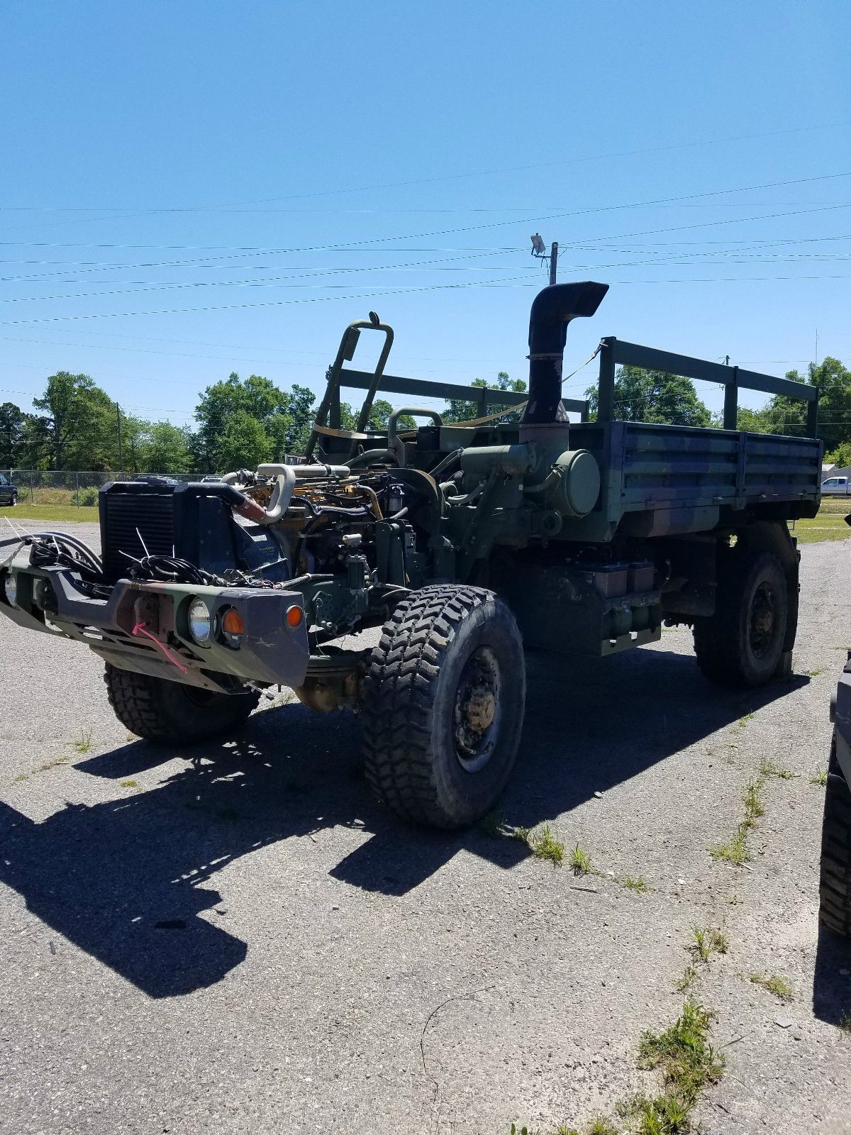 AM General LMTV Chassis no cab