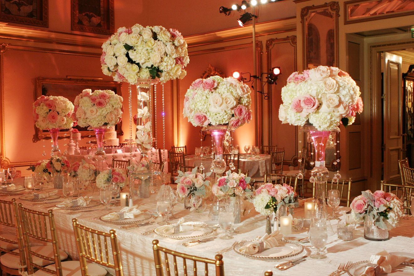 Elegant Wedding Head Table