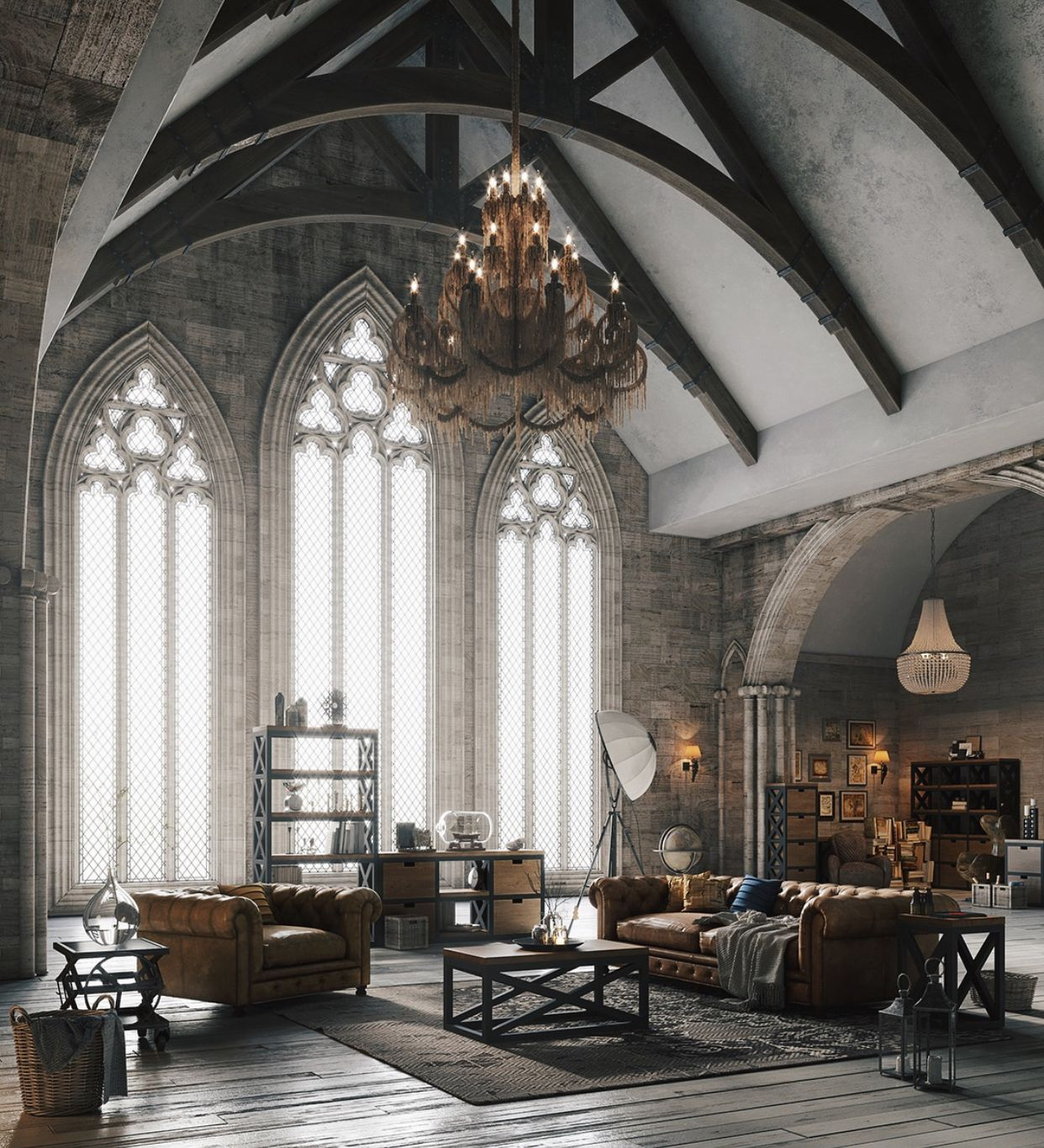 More Modern Gothic Gothic Interior Dream In 2019 Loft
