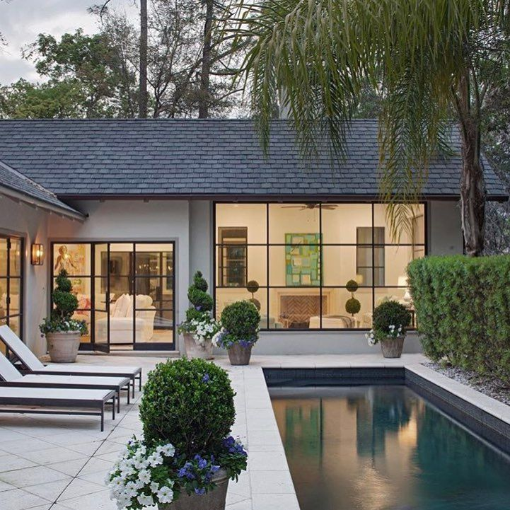 Ranch House Exterior Dream Home Plans - Stylendesigns