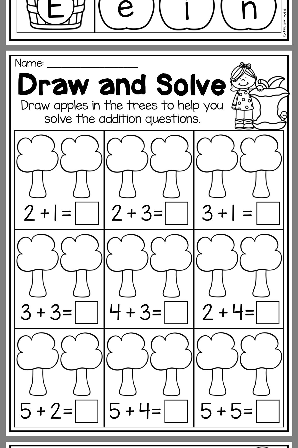 Pin By Miss Marzeh On Math Math For Kids Kids Math Worksheets Math Stations [ 1869 x 1242 Pixel ]