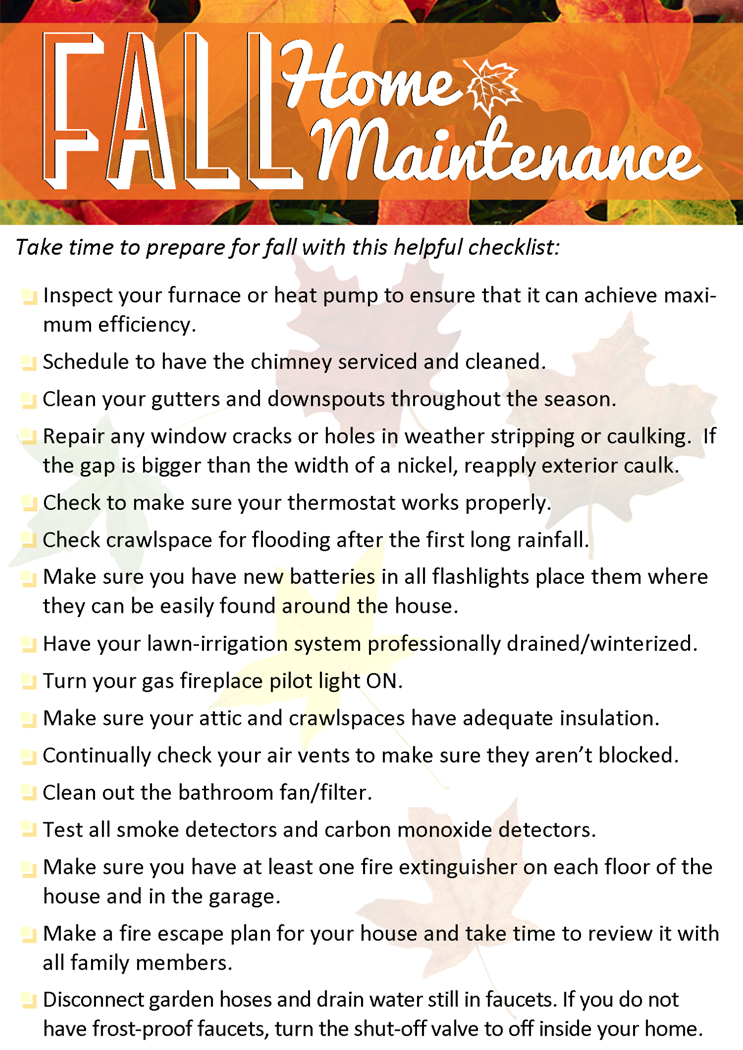 Fall Home Maintenance Tips fall home maintenance tips | windermere real estate shoreline