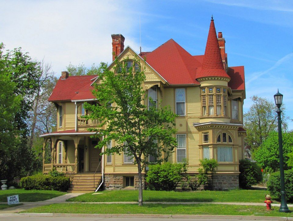 Bay City Turret House Victorian Homes Turret House Victorian Style Homes