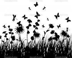 WILDFLOWERS SILHOUETTE - Google Search | Wild flowers